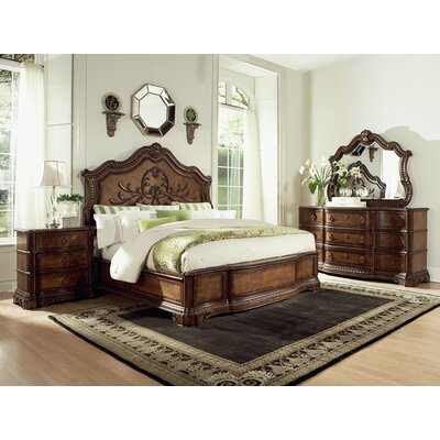 Crendon Panel Bed Size: King