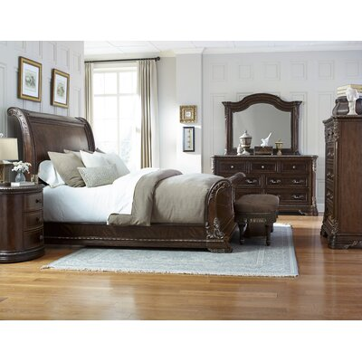 Hepburn Sleigh Customizable Bedroom Set