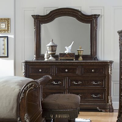 Hepburn 7 Drawer Dresser with Mirror
