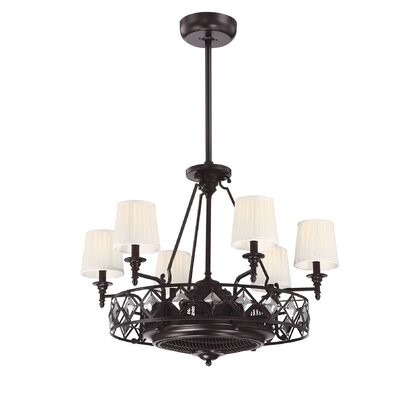 Arthur Ceiling Fan Chandelier