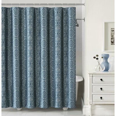 Montsegur Shower Curtain Color: Teal