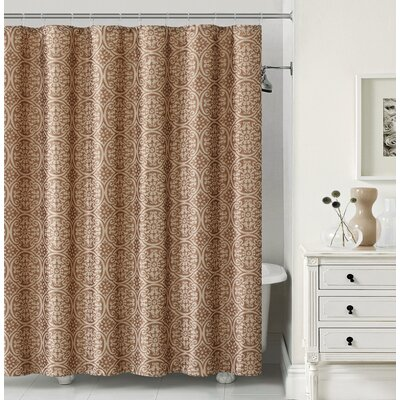 Montsegur Shower Curtain Color: Chocolate