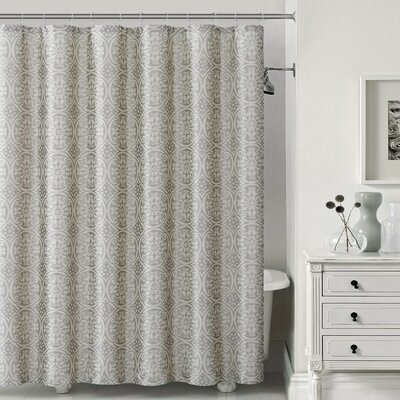 Montsegur Shower Curtain Color: Gray