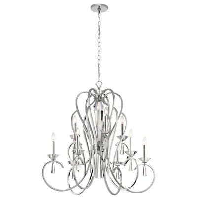 Amansara 9-Light Candle-Style Chandelier