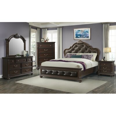 Crescent Panel Customizable Bedroom Set