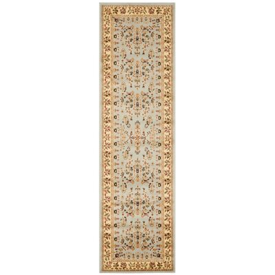 Richborough Gray/Beige Area Rug Rug Size: Runner 23 x 12