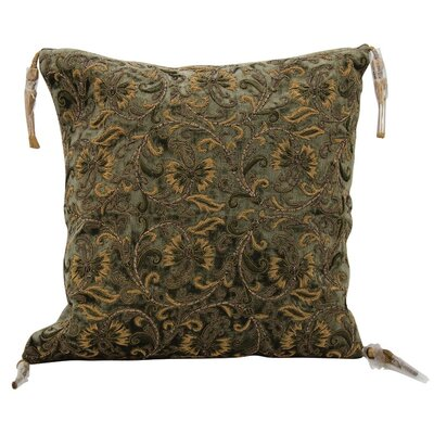 Creeve Wire Embroidery Throw Pillow