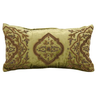 Clayton Wire Embroidery Lumbar Pillow