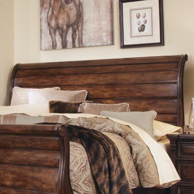 Carnaghliss Sleigh Headboard Size: King / California King