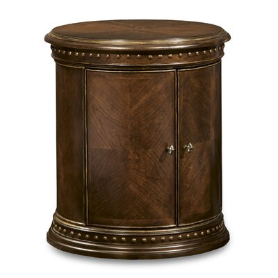 Hollin Drum End Table