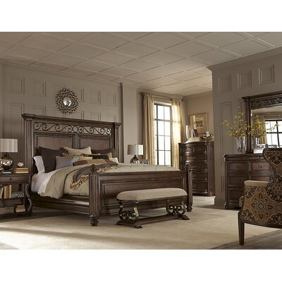 Hollin Panel Bed Size: King