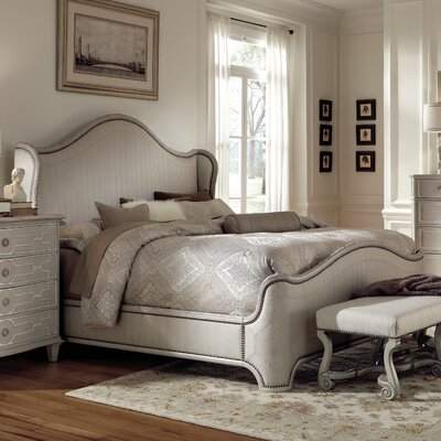 Clevinger Upholstered Panel Bed Size: King