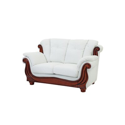 Gospel Loveseat Color: White