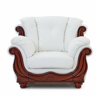 Gospel Armchair Color: White
