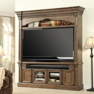 Queensbury 2 Piece Entertainment Center