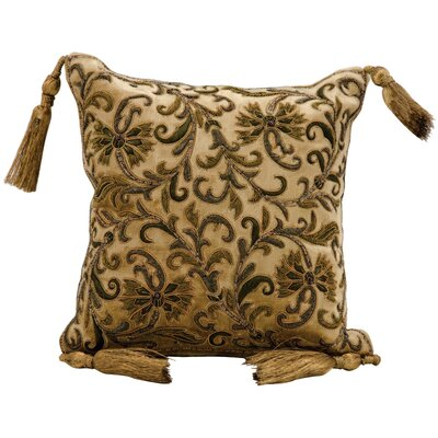 Burne Embroidery Throw Pillow