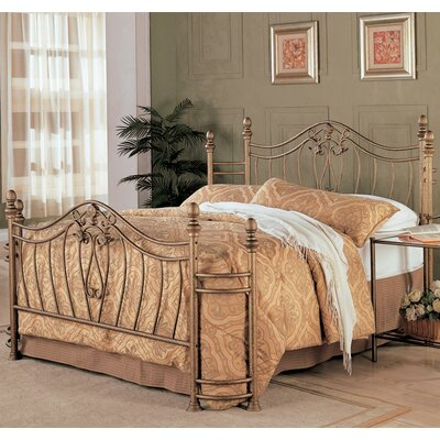 Amandari Open-Frame Headboard and Footboard Size: King