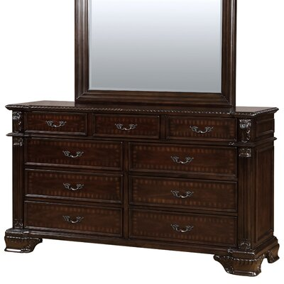 Georgeson 9 Drawer Dresser
