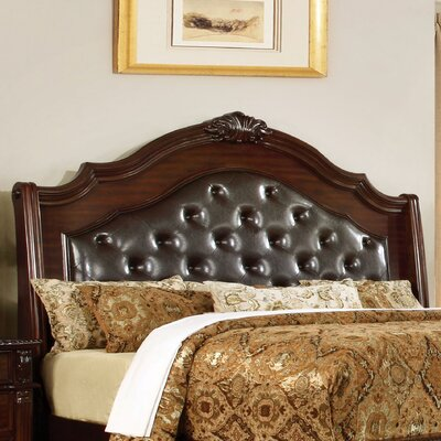 Georgeson Upholstered Panel Headboard Size: California King