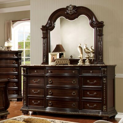 Gardener 12 Drawer Dresser with Mirror ASTG6448