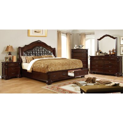Garrett Upholstered Panel Bed