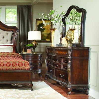 Chorleywood 10 Drawer Dresser with Mirror