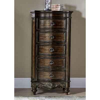 Pinner 5 Drawer Lingerie Chest