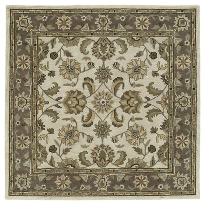 Quance Linen Area Rug Rug Size: Square 39