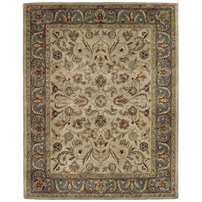 Queens Ivory Area Rug Rug Size: Rectangle 5 x 79