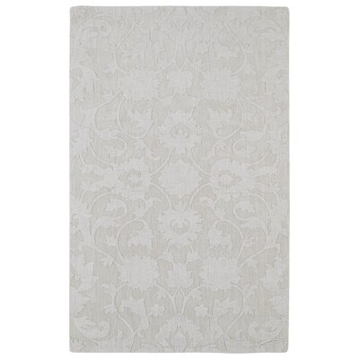 Roddin Ivory Solid Area Rug Rug Size: 2 x 3