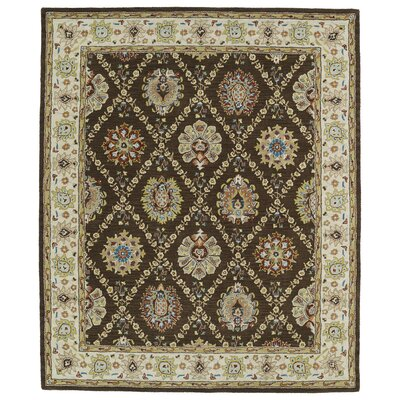 Barkell Brown Area Rug Rug Size: Rectangle 5 x 79