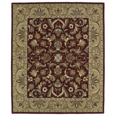 Barkell Red/Beige Area Rug