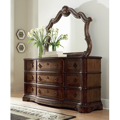 Crendon 9 Drawer Dresser