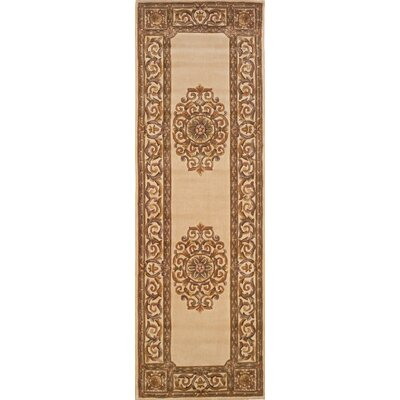 Gansevoort Hand-Tufted Ivory Area Rug Rug Size: Rectangle 53 x 8