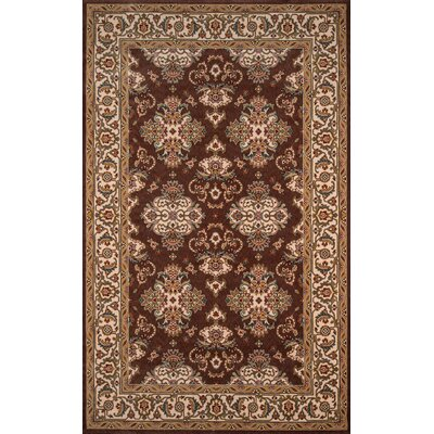 Forrestal Cocoa Area Rug Rug Size: Rectangle 3 x 5