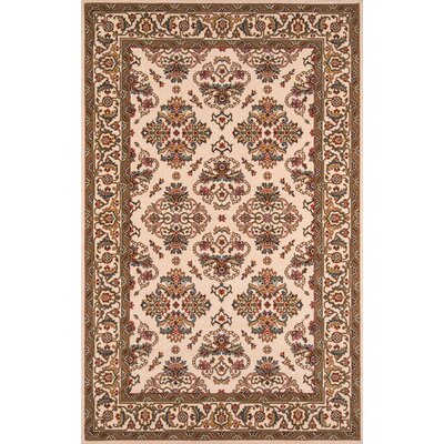 Forrestal Ivory Area Rug Rug Size: Rectangle 3 x 5