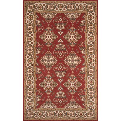 Forrestal Salmon Area Rug Rug Size: Rectangle 2 x 3
