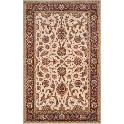 Forrestal Cocoa/Ivory Area Rug Rug Size: Rectangle 5 x 8