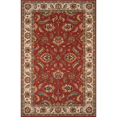 Forrestal Salmon Area Rug Rug Size: Rectangle 3 x 5