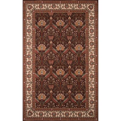 Forrestal Brown Area Rug Rug Size: Rectangle 2 x 3