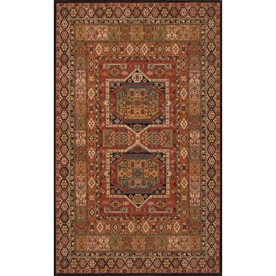 Forrestal Burgundy Area Rug Rug Size: Rectangle 5 x 8