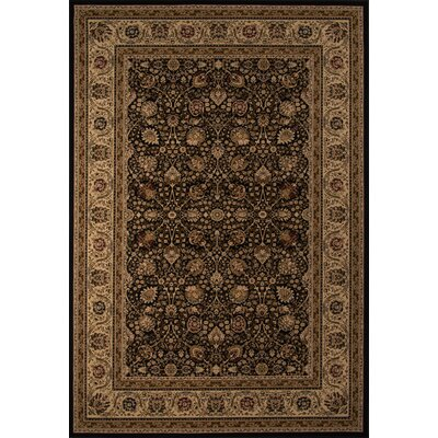 Mira Monte Black Rug Rug Size: Rectangle 91 x 136