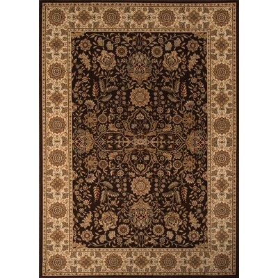 Mira Monte Brown Area Rug Rug Size: Rectangle 710 x 1010