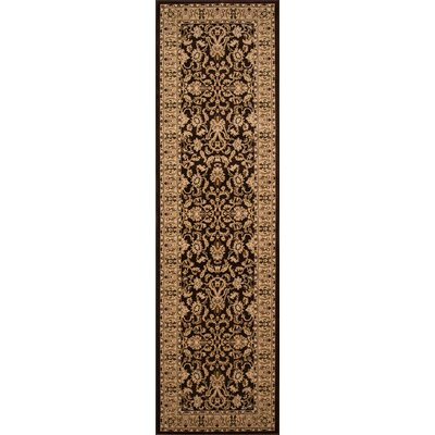 Mira Monte Brown Area Rug Rug Size: Runner 23 x 710