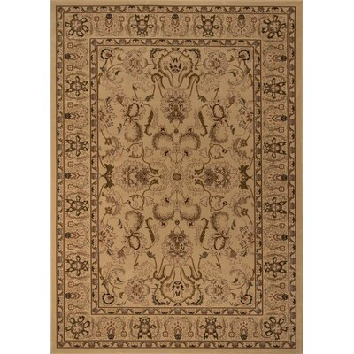 Mira Monte Ivory Area Rug Rug Size: Rectangle 53 x 77