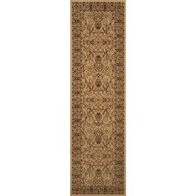 Mira Monte Ivory Area Rug Rug Size: Runner 23 x 71