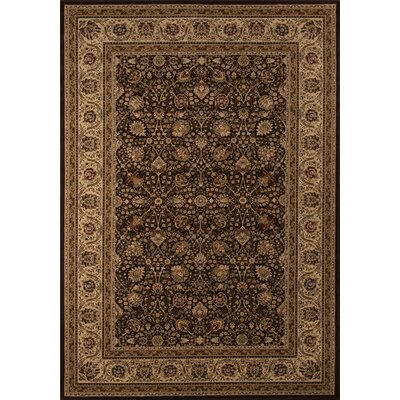 Mira Monte Brown Rug Rug Size: Rectangle 91 x 136