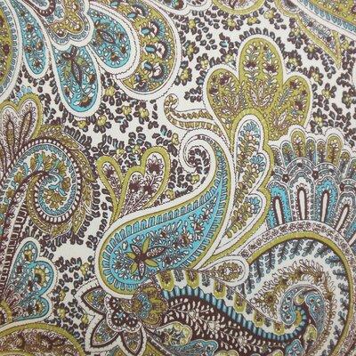 Amalienborg Paisley Cotton Throw Pillow Size: 18x18