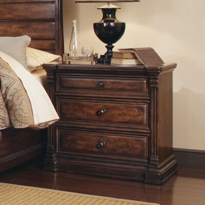 Carnaghliss 3 Drawer Nightstand