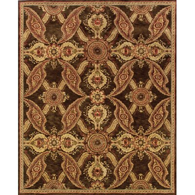 Lanesborough Hand-Tufte Brown Area Rug Rug Size: 36 x 56